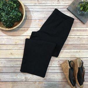 NWOT Sz 6 Petites J. Jill Ponte Stretch Crop Pants